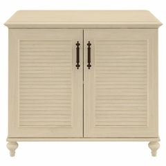 "Volcano Dusk 34"" 2 Door Storage Cabinet in Driftwood Dreams - Kathy Ireland"