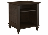 Volcano Dusk End Table with Storage in Kona Coast - Kathy Ireland