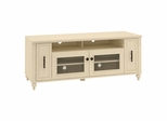 Volcano Dusk TV Stand with Pull-Out Media Storage in Driftwood Dreams - Kathy Ireland
