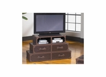 Voyage HD Console Base Brown Leather - Largo - LARGO-ST-T949-170B