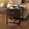 Voyager Espresso Storage End Table - Holly and Martin
