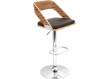 Vuno Zebra Brown Barstool - Lumisource