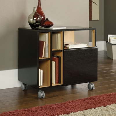 W3 File Cart Wind Oak - Sauder Furniture - 410590