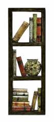 Wall Art - Library Metal Wall Plaque - Style Craft - WI4-1027-DS