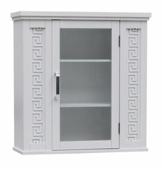 Wall Cabinet - Greek Key - 7299