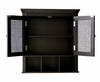Wall Cabinet with 2 Doors in Dark Espresso - Savannah - 7800