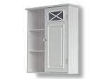 Wall Cabinet with One Door and Shelves - Dawson - 6827
