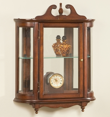 Wall Curio in Plantation Cherry - Butler Furniture - BT-1927024