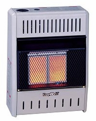 Wall Heater Infrared 2 Plaque (10000-LP-Manual) - KWP112