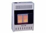 Wall Heater Infrared 2 Plaque (10000-NG-Tstat) - KWN121