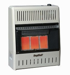 Wall Heater Infrared 3 Plaque (15000-LP-Manual) - KWP192
