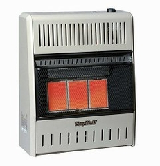 Wall Heater Infrared 3 Plaque (15000-LP-Tstat) - KWP196