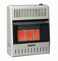Wall Heater Infrared 3 Plaque (18000-NG-Tstat) - KWN195