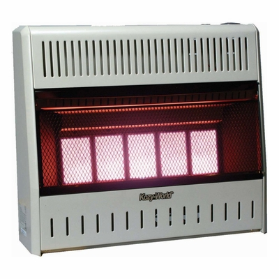 Wall Heater Infrared 5 Plaque (30000-NG-Tstat) - KWN323