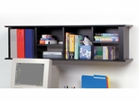 Wall Hutch in Black - Sonoma Collection - Prepac Furniture - BHD-1348