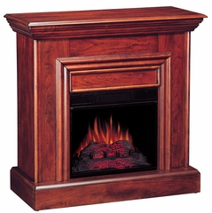 Wall Mantel Electric Fireplace in Cherry - 900351N