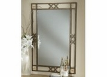 Wall Mirror - Brookside Fossil Mirror - Hillsdale Furniture - 4815-890