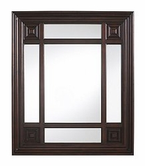 Wall Mirror - Marcella Rectangular Mirror - Cooper Classics - 5875