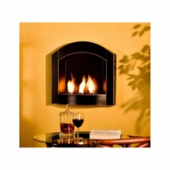 Wall Mount Arch Fireplace - Holly and Martin