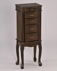 Walnut Jewelry Armoire - Teri - 16002
