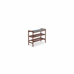 Walnut Shoe Rack - Winsome Trading - 94633