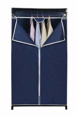 Wardrobe and Storage Closet in Blue - FG-2052BLUE