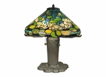 Water Lily Tiffany Replica Table Lamp - Dale Tiffany