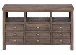 "Weathered Grey 60"" TV Stand - 067-60"