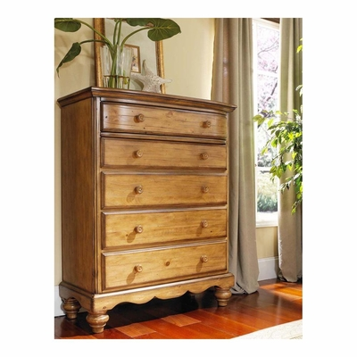 Weathered Pine Hamptons Chest - Hillsdale