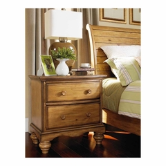 Weathered Pine Hamptons Nightstand - Hillsdale