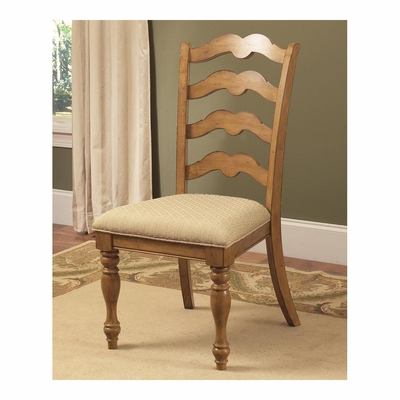 Weathered Pine Hamptons Side Chair - Set Of 2 - Hillsdale