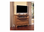 Weathered Pine Hamptons TV Chest - Hillsdale