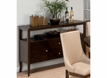 Webber Walnut Casual Server with Two Drawers - 417-95