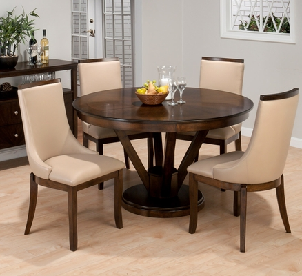 Webber Walnut Kitchen Dining Set  - 417-53