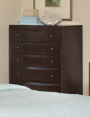 Webster Chest in Brown Maple - 202495