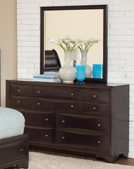Webster Dresser in Brown Maple - 202493