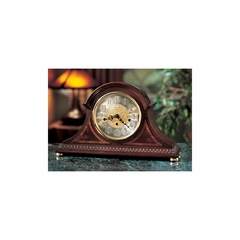 Webster Mantel Clock with Brass Feet - Howard Miller