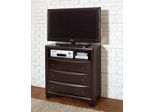 Webster Media Chest in Brown Maple - 202496