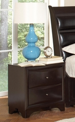Webster Nightstand in Brown Maple - 202492