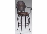 Wellington Metal Swivel Stool Bronze - Largo - LARGO-ST-D137-2X