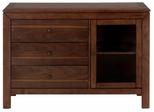 Wenatchee Falls Walnut 3-Drawer Server - 737-95