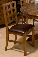 Wenatchee Falls Walnut Giga Gridback Chair - Set of 2 - 737-222KD