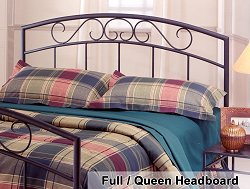 Wendell Full / Queen Metal Headboard - 298-49