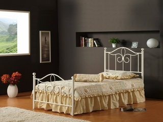 Westfield Twin Size Metal Bed - Hillsdale Furniture - 1354BTWMR