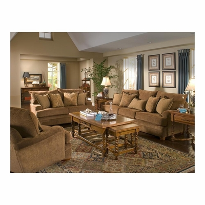 Weston Sofa, Loveseat and Chair Set Acorn - Largo - LARGO-WG-F0970-SET