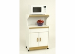White Oak Microwave Cart - Ameriwood Industries - 4574GM