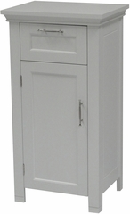 White Somerset 1 Door Floor Cabinet