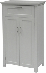 White Somerset 2 Door Floor Cabinet