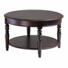 Whitman Round Coffee Table - Winsome Trading - 40130