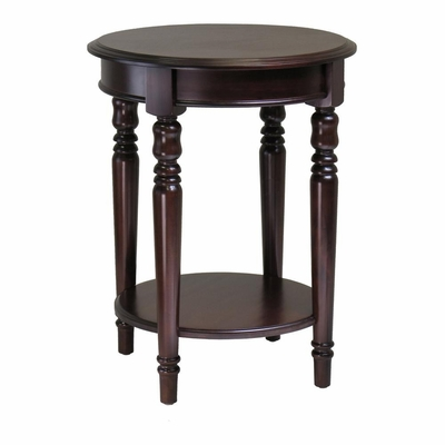 Whitman Round End Table - Winsome Trading - 40120